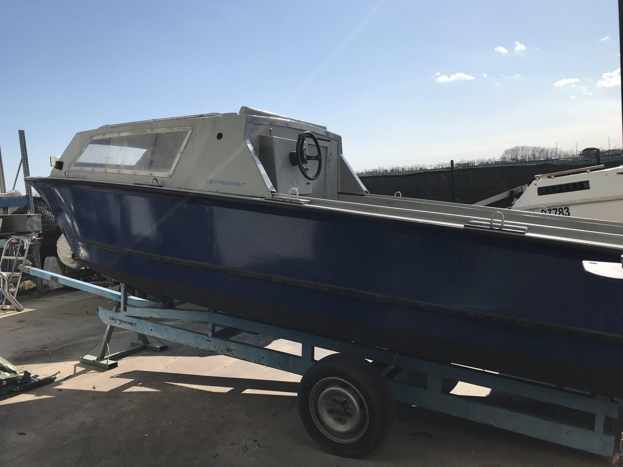 Barca da pesca e lavoro