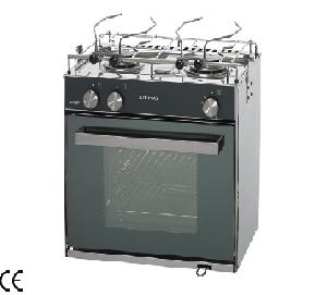 Cucine e forni a gas in acciaio inox