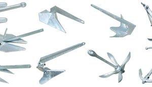 Ancore in acciaio zincato